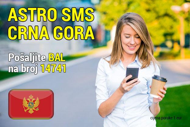 SMS Astrolog Crna Gora